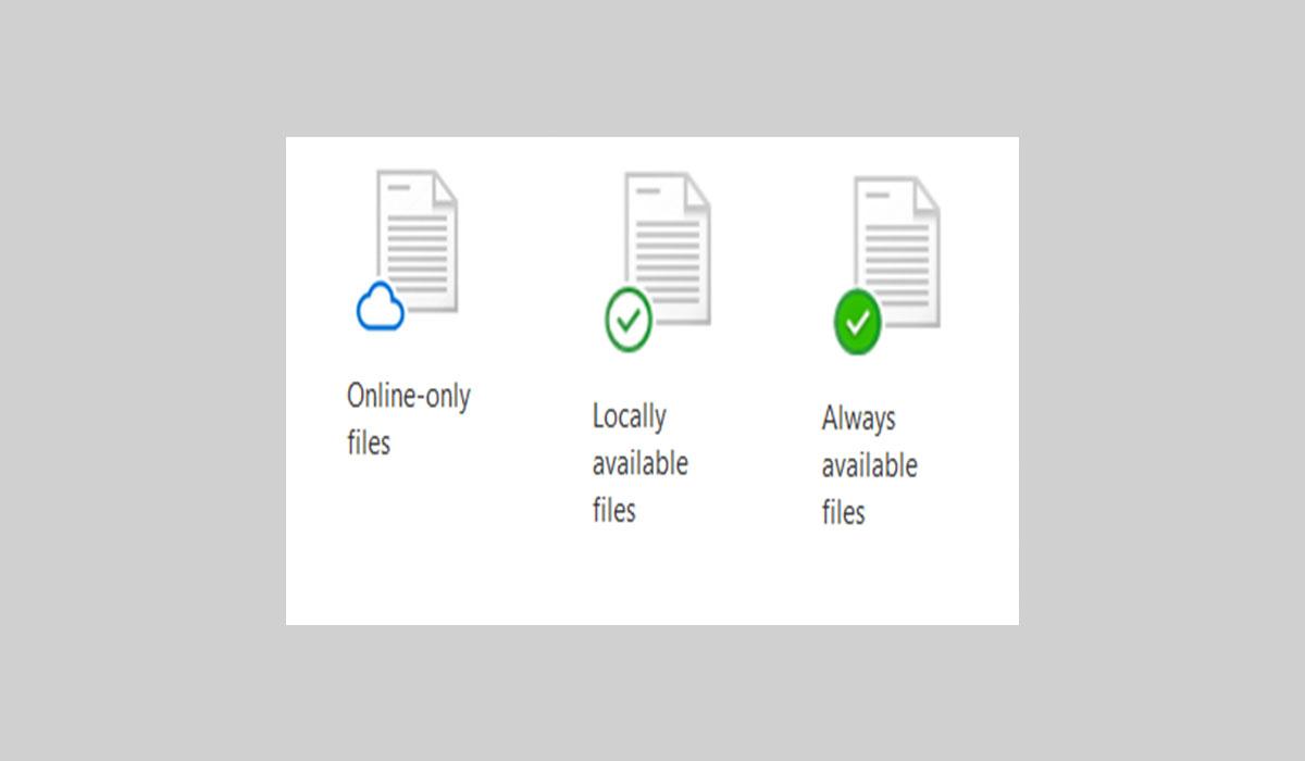 Files on demand
