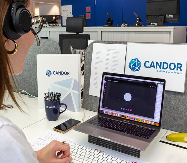 candor teams telefooncentrale