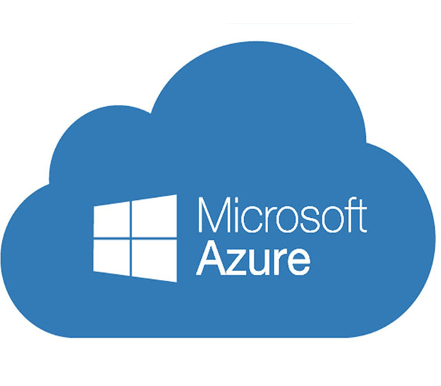 Azure cloud logo