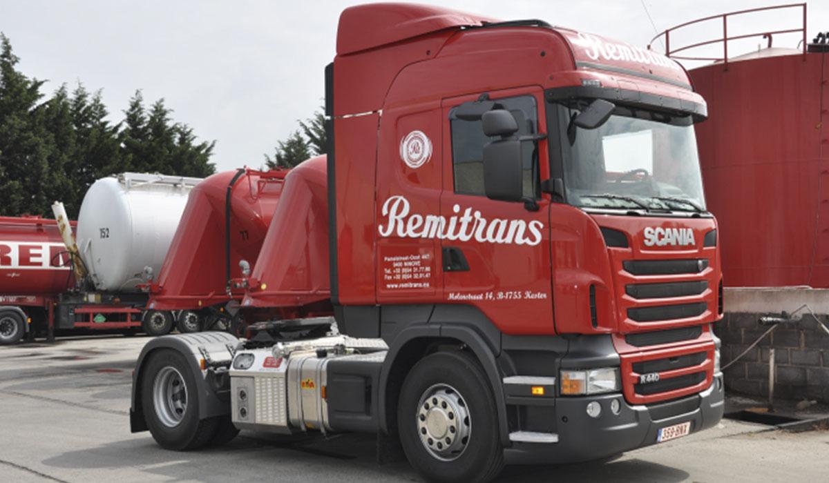 remitrans vrachtwagen