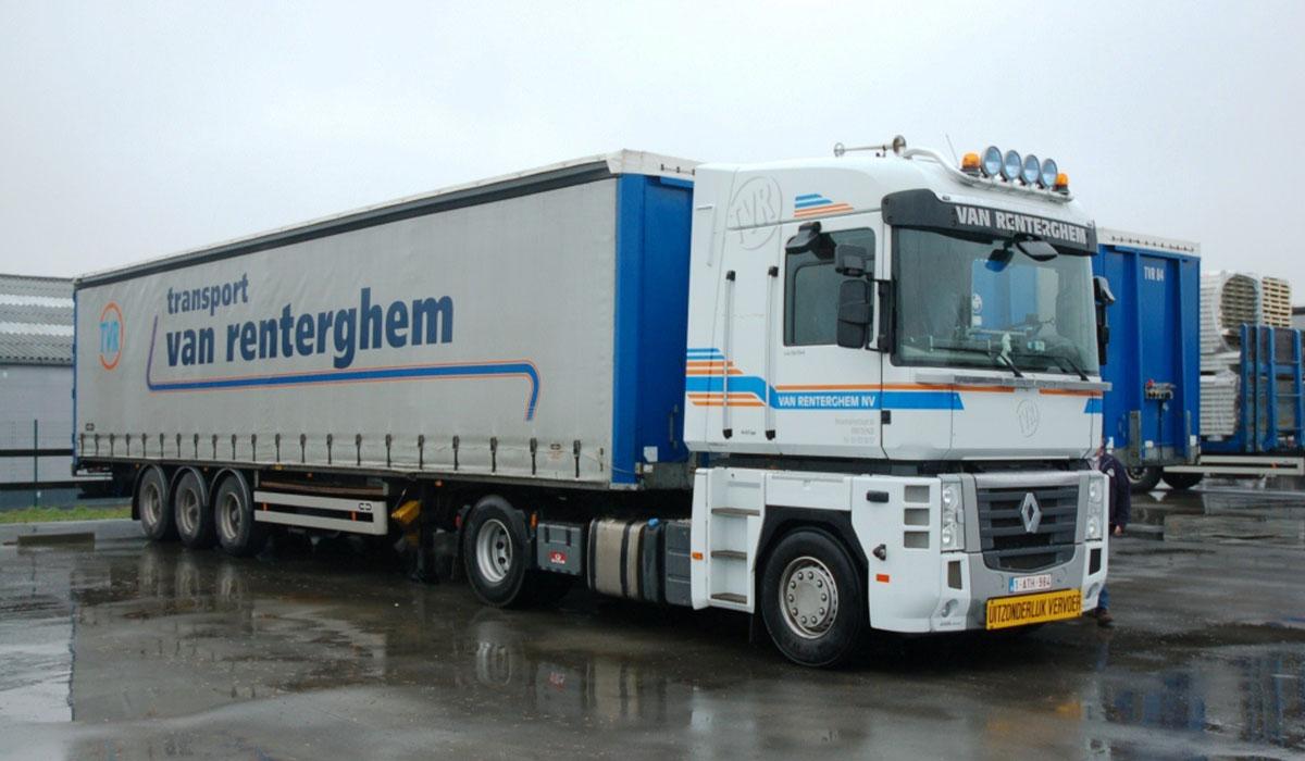 vrachtwagen van renterghem
