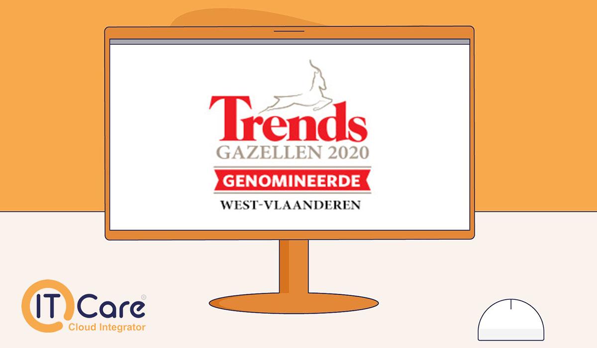 IT-Care genomineerd trends gazellen 2020